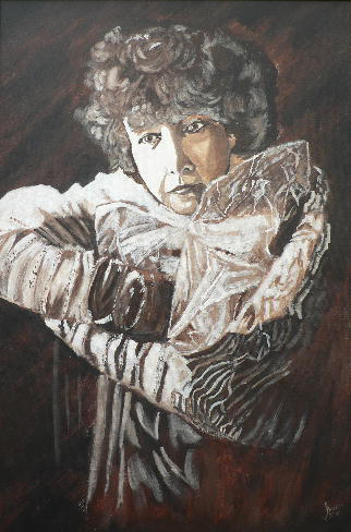 artwork steven kentSarah Bernhardt - Still Lovely at Nearly 60 - 2